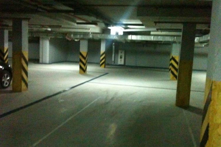 Прочные полы по технологии СУПЕРПОЛ для паркинга