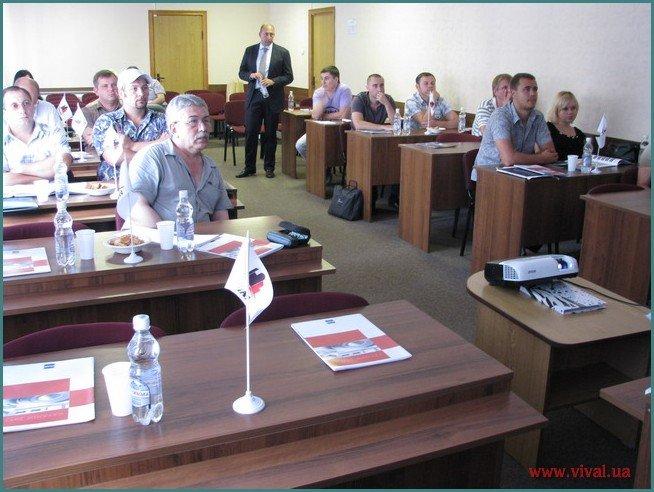 Семінар по ПВХ и ТПО мембранам Flagon