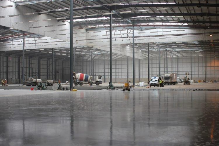 Більше ніж 30 000 кв.м. промислових підлог FORTEDUR