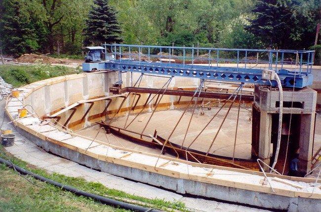 Гидроизоляция очистных сооружений материалами GEMITE