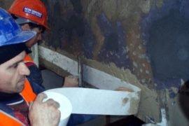 Герметизация трещин