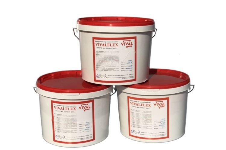 Поліуретанові мастики-герметики VIVALFLEX