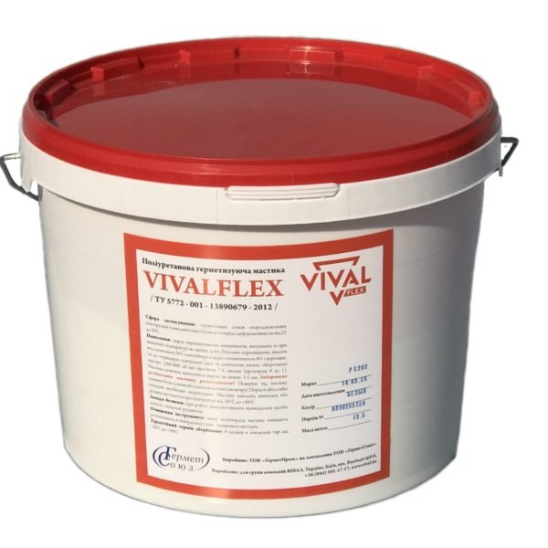 Мастика герметик VIVALFLEX PU202