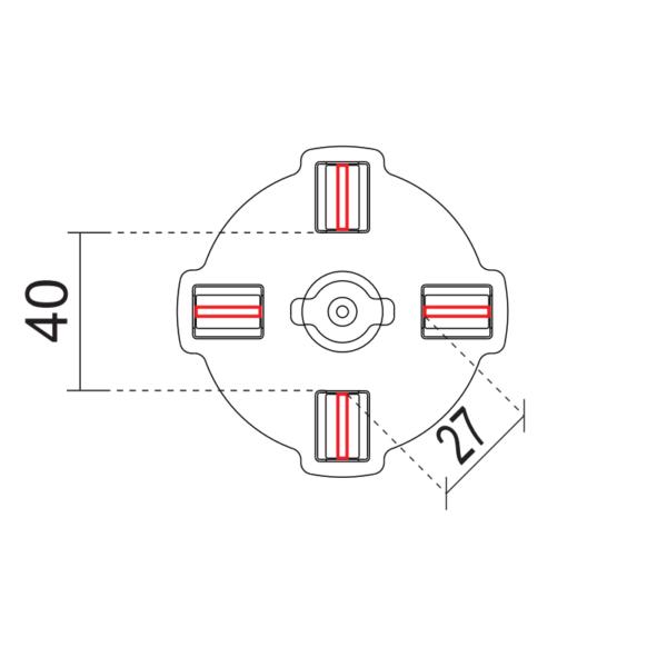 Головка ТА-10-2 под плитку схема