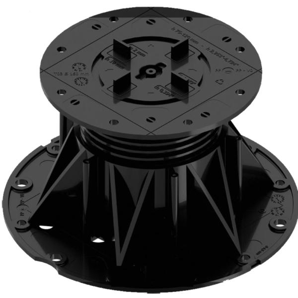 Опоры MegaMart высотой 75-120 мм для фальшполов