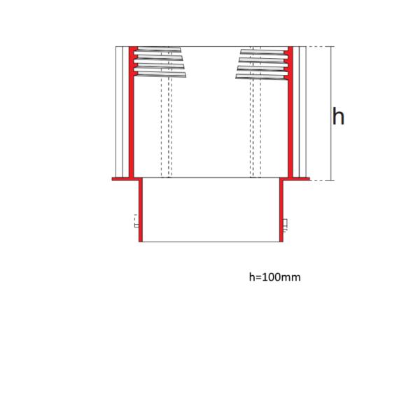 Удлинитель для опоры MegaMart схема