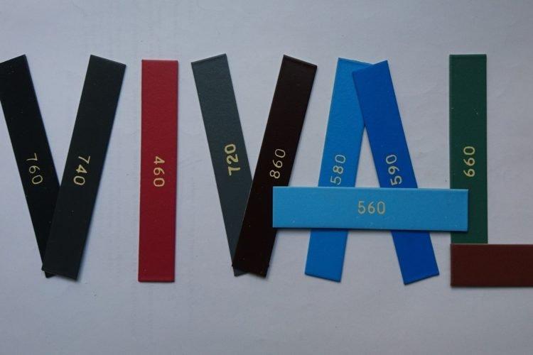 Цветовая гамма ПВХ листа в ассортименте