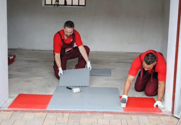 Реконструкция старого бетонного пола