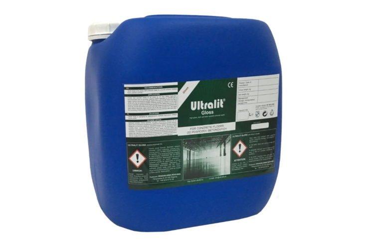 Пропитка для полированного бетона ULTRALIT GLOSS